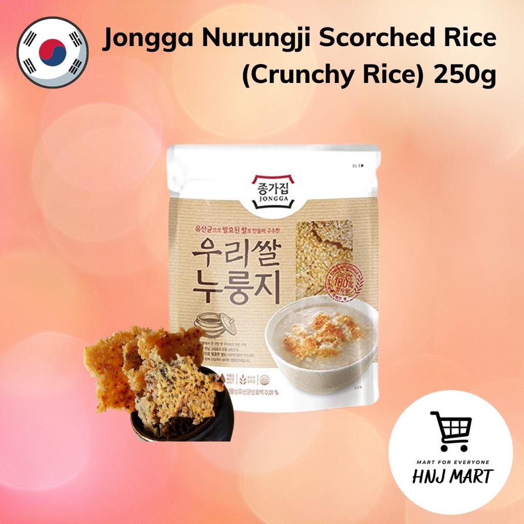 Jongga Nurungji Scorched Rice (Crunchy Rice) 250g