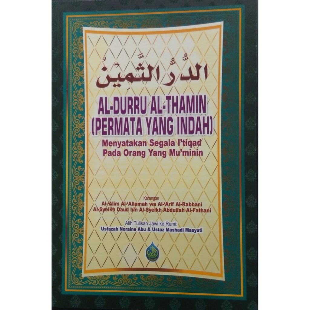 Al-Durru Al- Thamin Durus Samin : Permata yang Indah Edisi Rumi - Al Hidayah