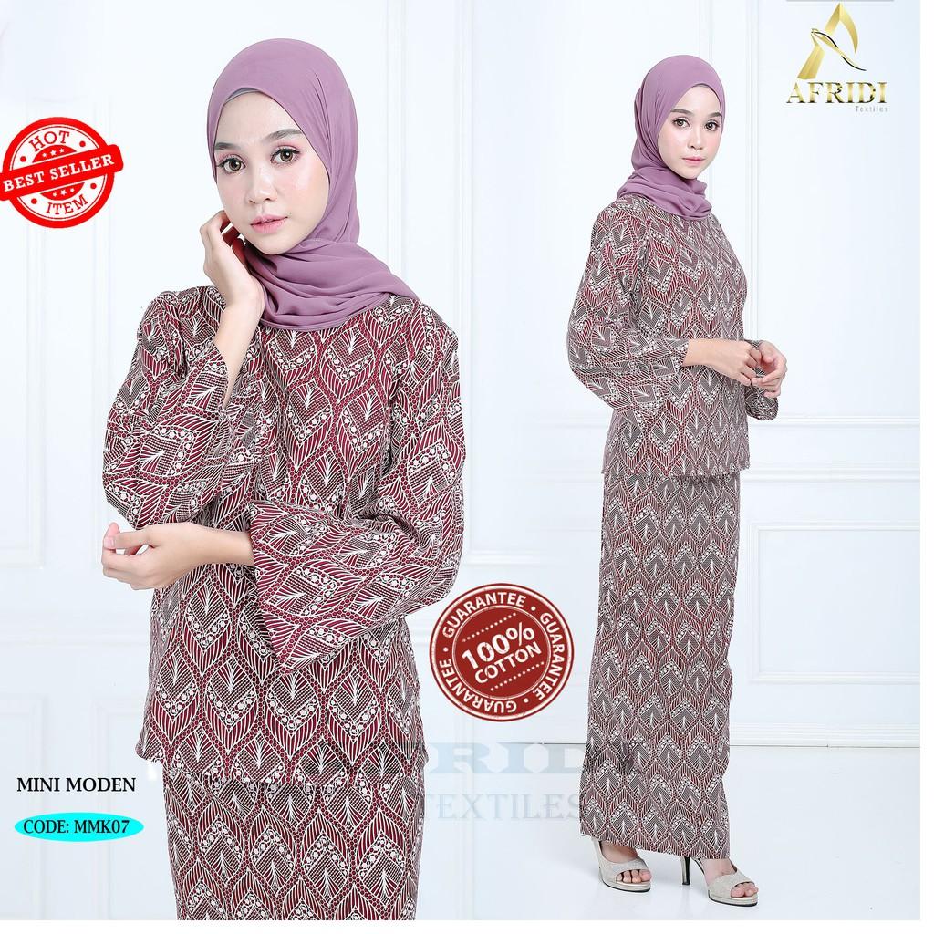 Baju Kurung Mini Moden Kurung Kedah English Cotton Shopee Malaysia