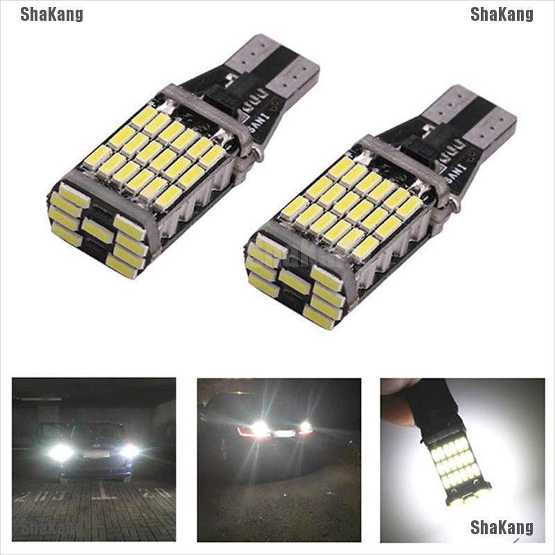 1Pc Car White 15 LED License Plate Light Bolt On Reverse Backup Lamp 6000K 12V