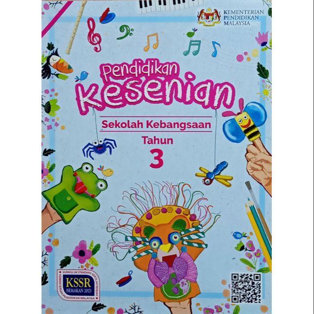 Buku Teks Pendidikan Kesenian Tahun 3 Shopee Malaysia