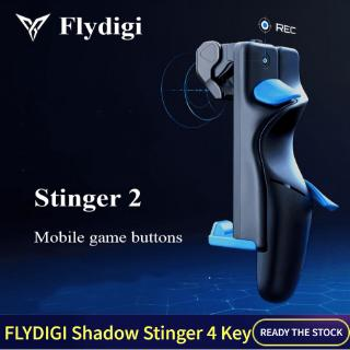 Revisione filosofo accuse  Original Flydigi Shadow Stinger Trigger 2 Generation Game Controller Mobile  Control Game Joystick Button Left Right Gamepad Trigger Shooter for PUBG  COD iOS Android | Shopee Malaysia