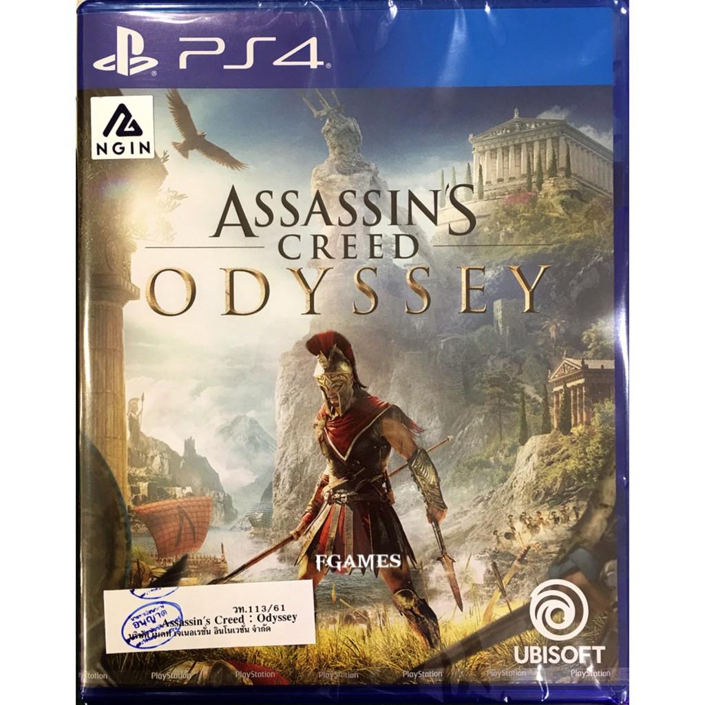 PS4 Assassin Creed Odyssey (Zone3/Asia)( English ) แผ่นเกมส์ ของแท้ มือ1 ของใหม่