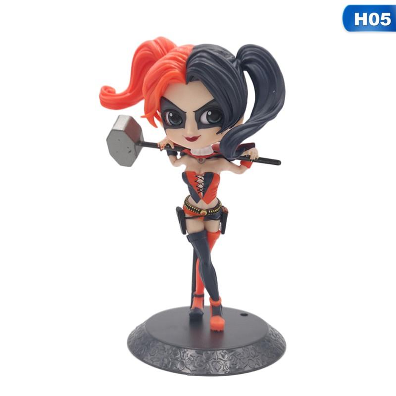 Suicide Squad Harley Quinn Joker/'s Girl Friend Figura Anime 22cm