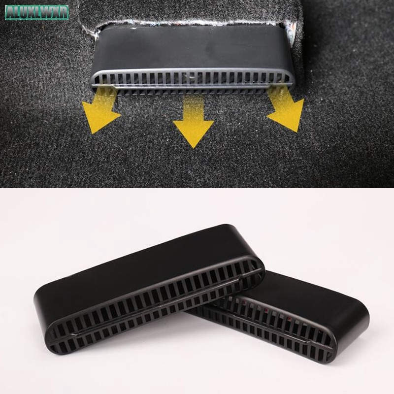 Seat Ac Heat Floor Air Conditioner Duct Vent Outlet Grille For Ford Explorer
