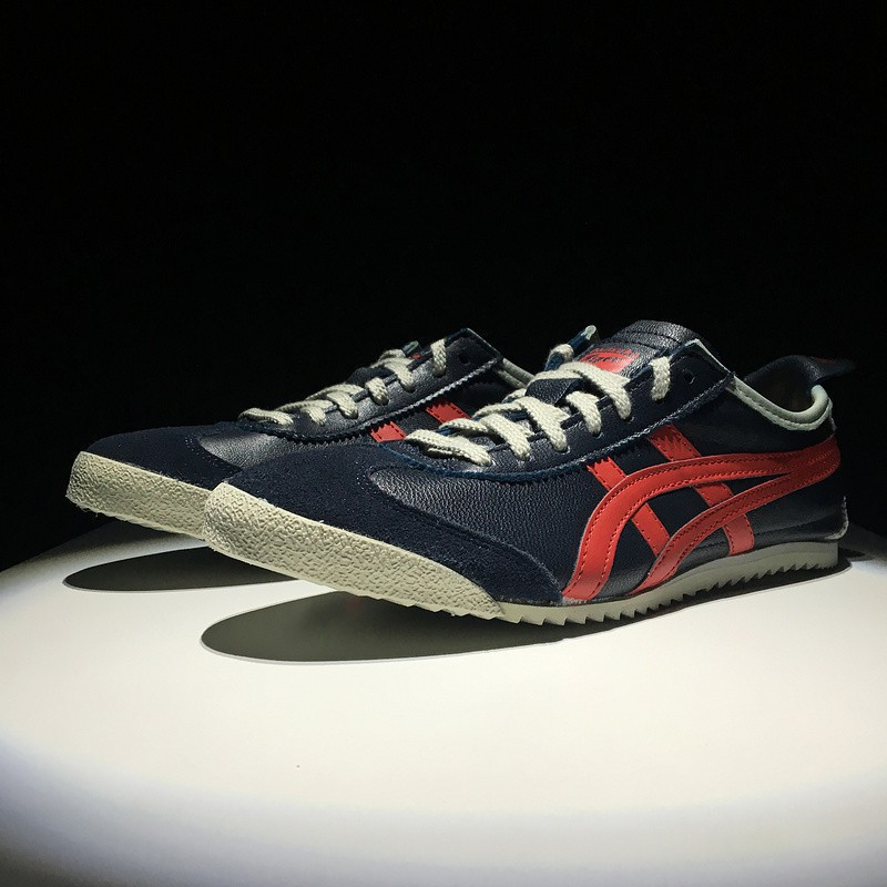 super popular 2b6e4 30425 Available Asics Shoes Onitsuka Tiger MEXICO 66 DELUXE Red-Black for M