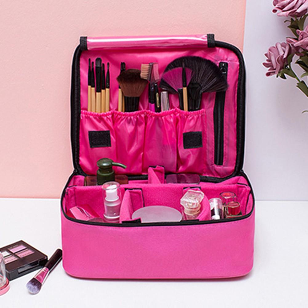 d11fe3536339 Travel Cosmetics Case Large Capacity Makeup Bag Storage Waterproof Box
