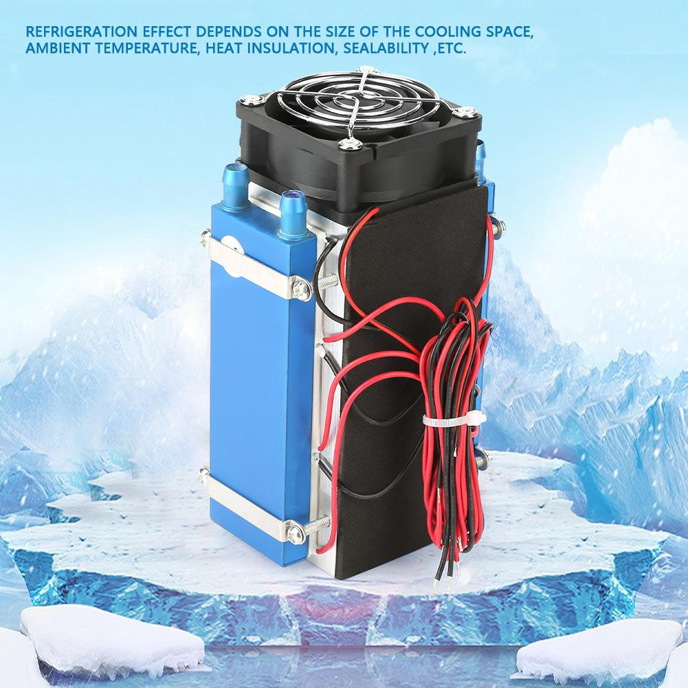 Semiconductor Cooler Kit DC 12V 4//6 Chip Semiconductor Refrigeration Machine Cooler DIY Air Cooling Device for Replaceable Parts 1#