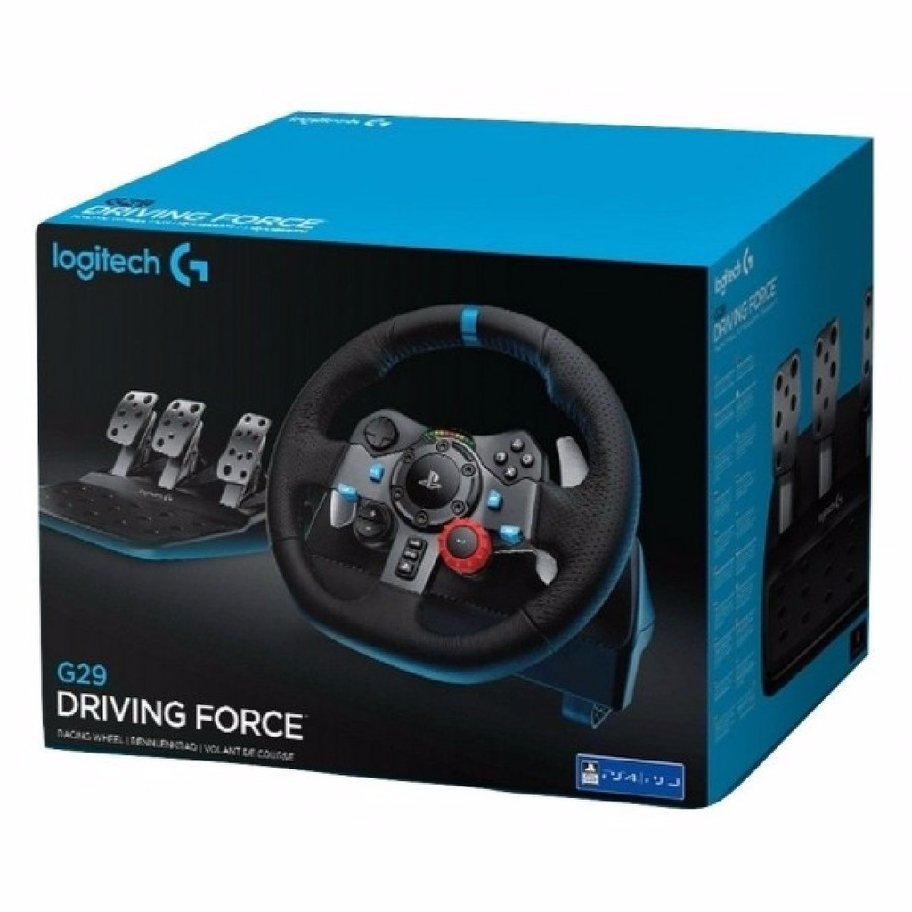 LOGITECH STEERING WHEELS G29 WITHOUT SHIFTER