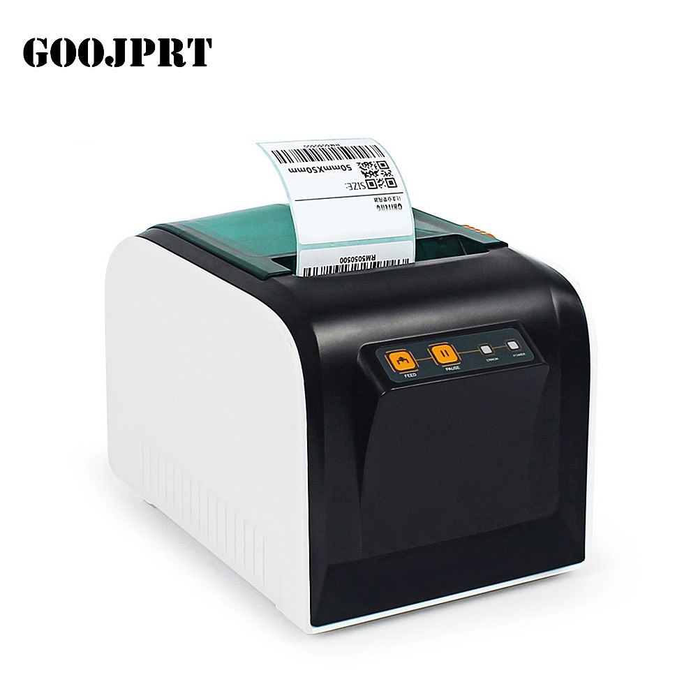 #3C# GOOJPRT JP - 3100TU Thermal Label Printer 80mm Sticker Printing Machine