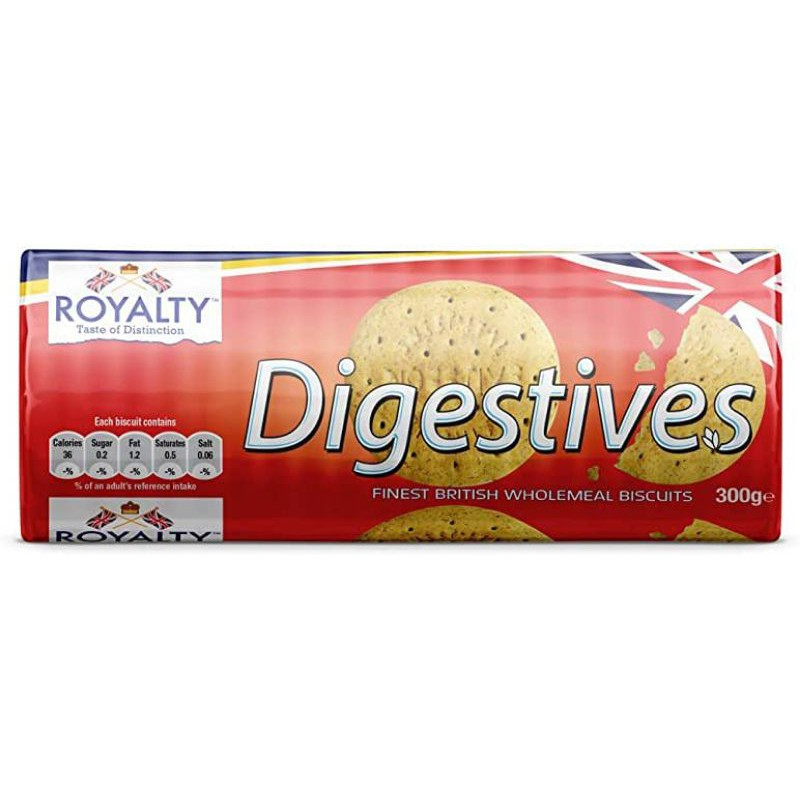 GB ROYALTY 100 DIGESTIVES BISCUITS - 400GM