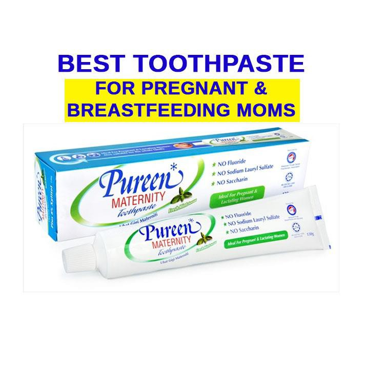 Pureen Maternity Toothpaste 130g Pregnancy Toothpaste x 2tubes