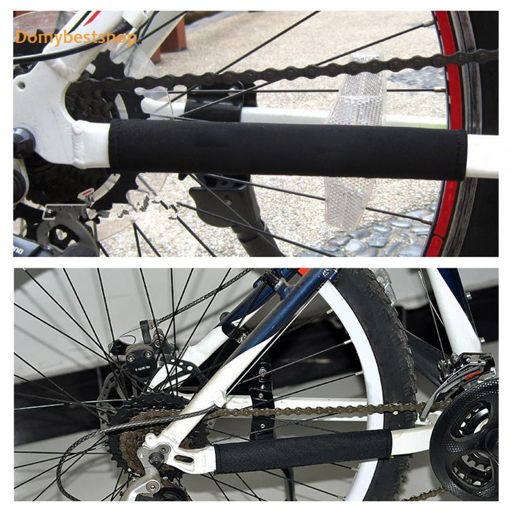2X Cycling Bicycle Bike Frame Chain stay Protector Guard Nylon Pad Cover Wrap VQ