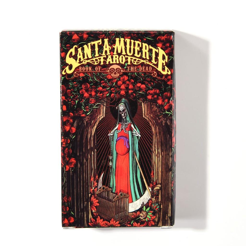 Santa Muerte Tarot Cards Deck Fabio Listrani Esoteric Telling Lo Scarabeo New Shopee Malaysia