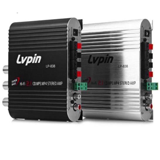 Lvpin LP-838 Power Amplifier Hi-Fi 2.1 MP3 Radio Audio Stereo Amplifier  72cabd0916f42