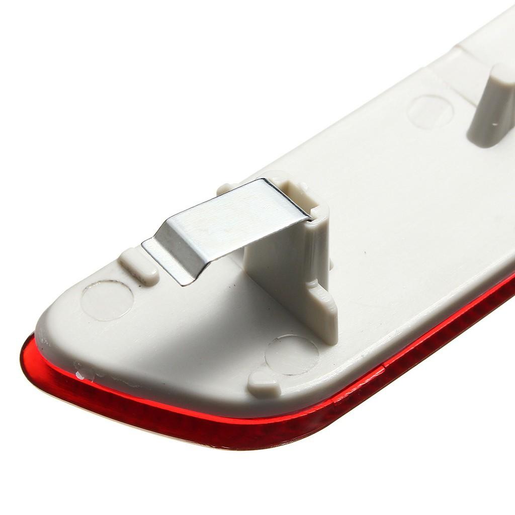 Pair Red Rear Bumper Reflector 63217158949 63217158950 for E70 X5 E70 07-13