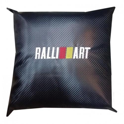 Ralliart Carbon Micro-fibre Car Pillow