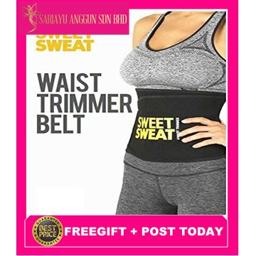 3cf9c20b31829 Sweet Sweat Premium Waist Trimmer Belt for Men & Women | Shopee Malaysia