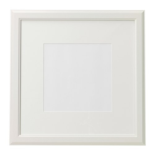 IKEA VIRSERUM FRAME WHITE 50X50 CM | Shopee Malaysia