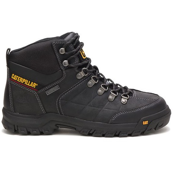 2a3091e22cbd Caterpillar Men's Threshold Waterproof Steel Toe Work Boot Black P90936 |  Shopee Malaysia