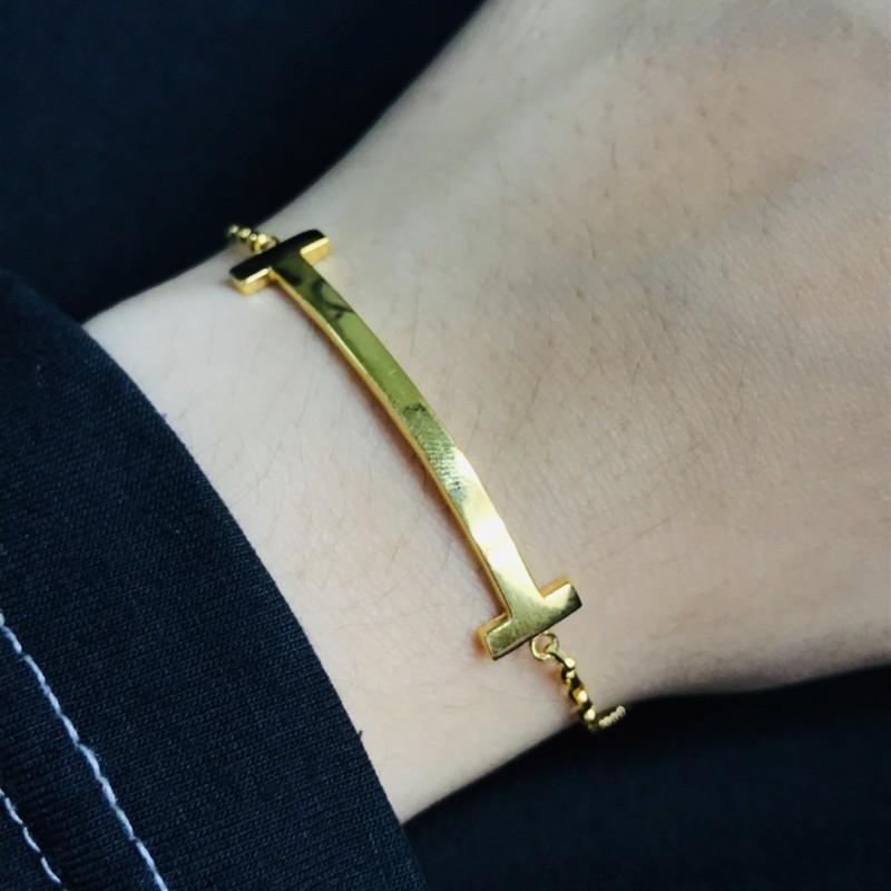 Gelang Emas T-Smile/ T-Smile Bracelet (Emas 916)