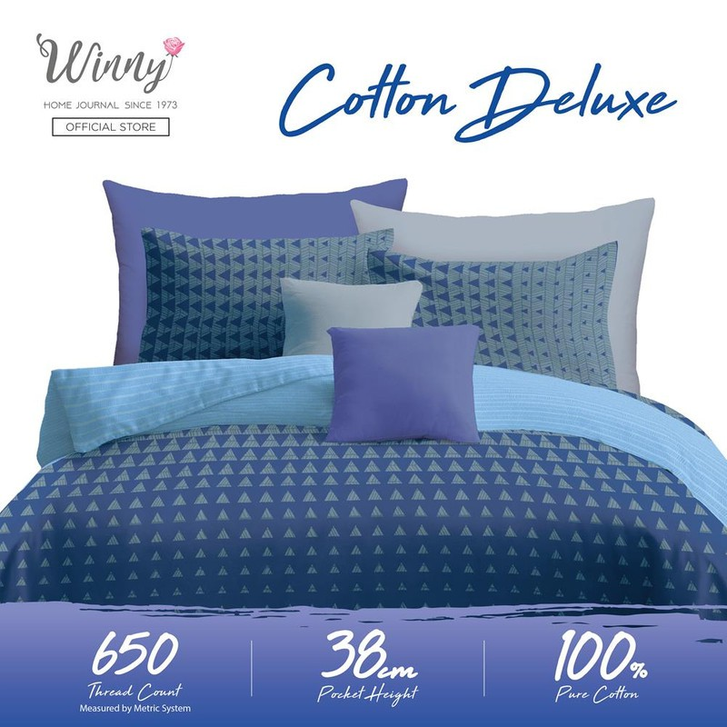 Winny Cotton Deluxe Comforter Sets