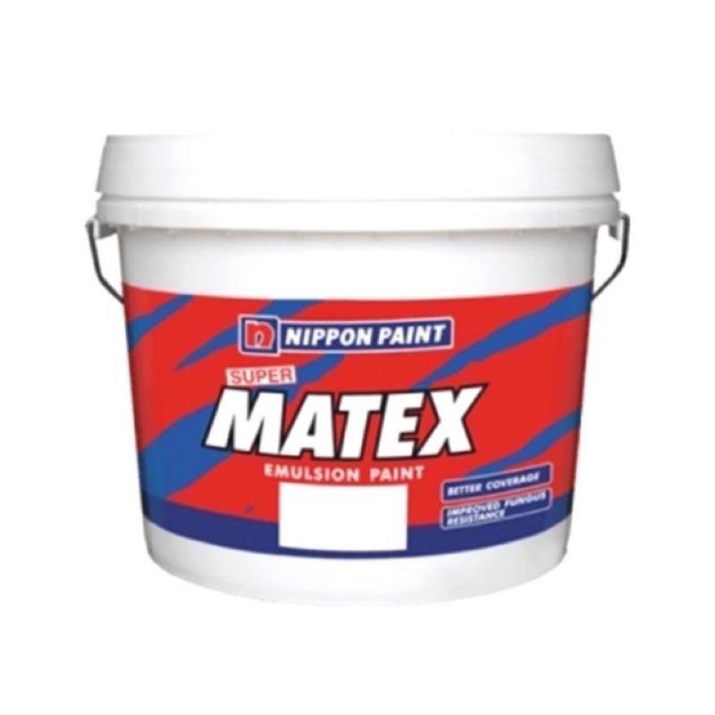 (1L) NIPPON Paint Super Matex - Cat Putih / Cat Kapur / Undercoat