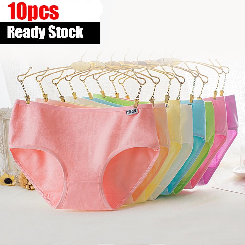 81118575369f 9pcs Women Panties Cotton Panties Underwear 9 Colors fixed Sofd ...