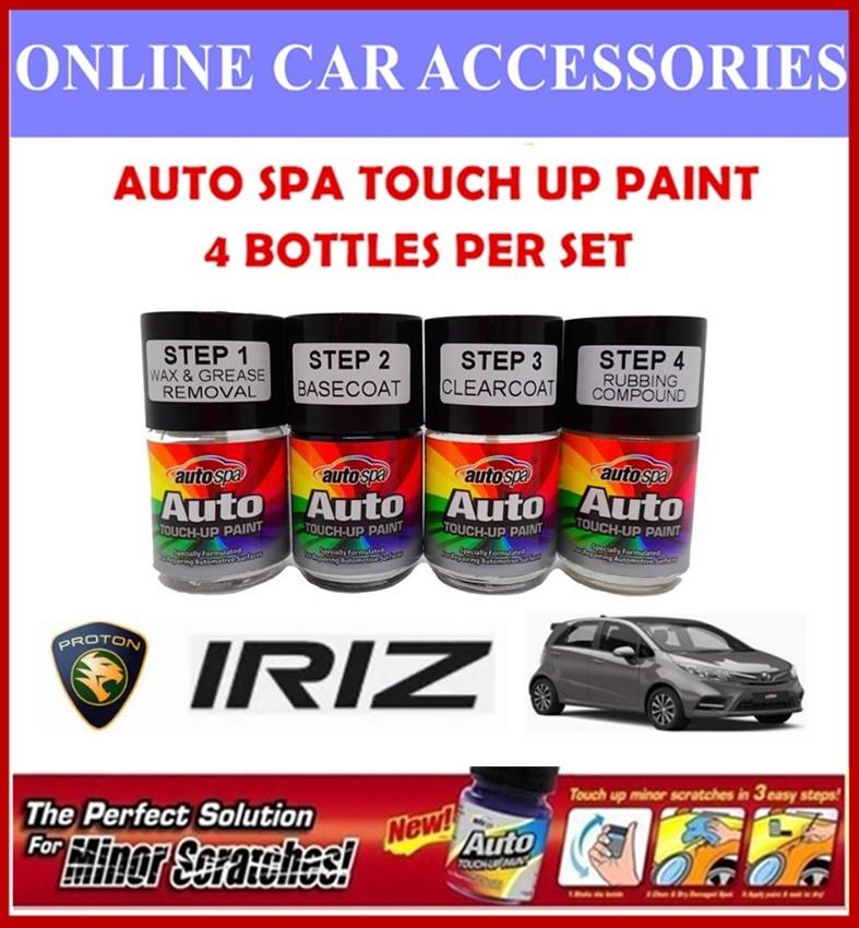 PROTON Iriz Original Touch Up Paint - AUTOSPA Touch Up Combo Set (4 Bottles Per Set)