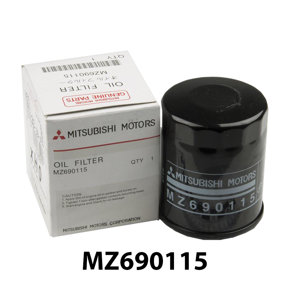 Original Mitsubishi Oil Filter - Wira / Inpiral / Gen2 / Persona / Attrage