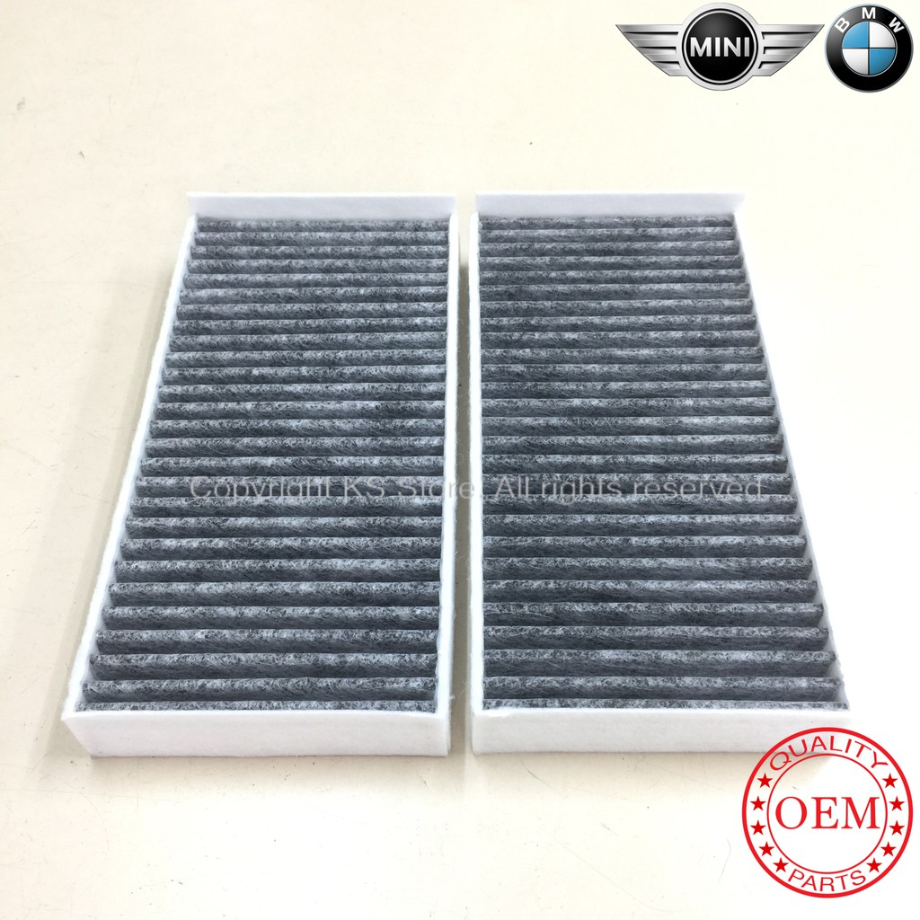Mini One Cooper F54 F55 F56 F57 / BMW i3 2series F45 F46 X1 F48 Cabin Air filter-(Active Carbon)