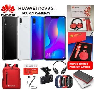 ✨HUAWEI Nova 3i ✨Free Gifts🎁[4RAM + 128GB] 1 Year Warranty by HUAWEI MALAYSIA;