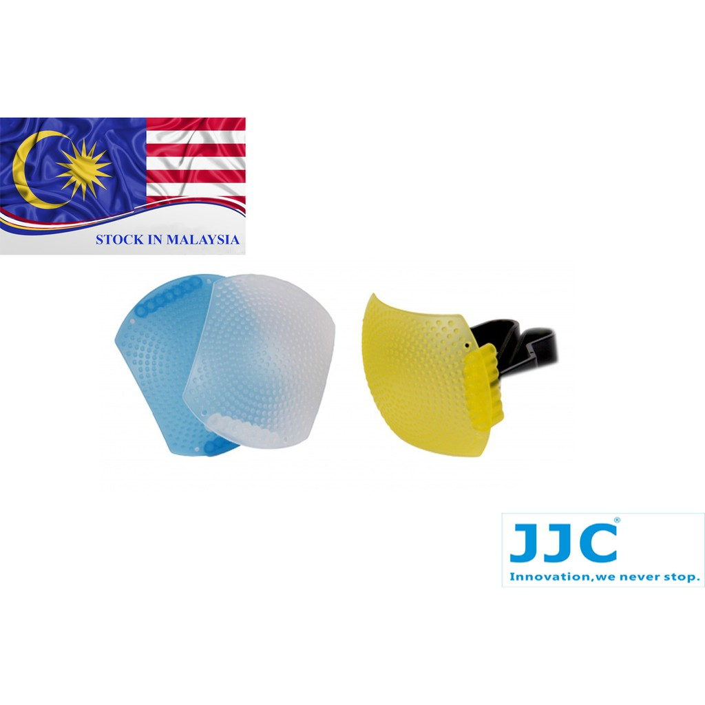 JJC Pop Up Diffuser 3 Colur (Large Size) Canon Nikon Pentax Olympus (Ready Stock In Malaysia)