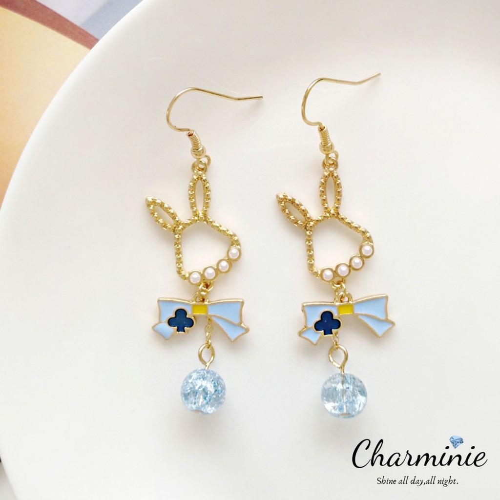 Korean & Japanese Style Rabbit Drop Earrings (Ready Stock)