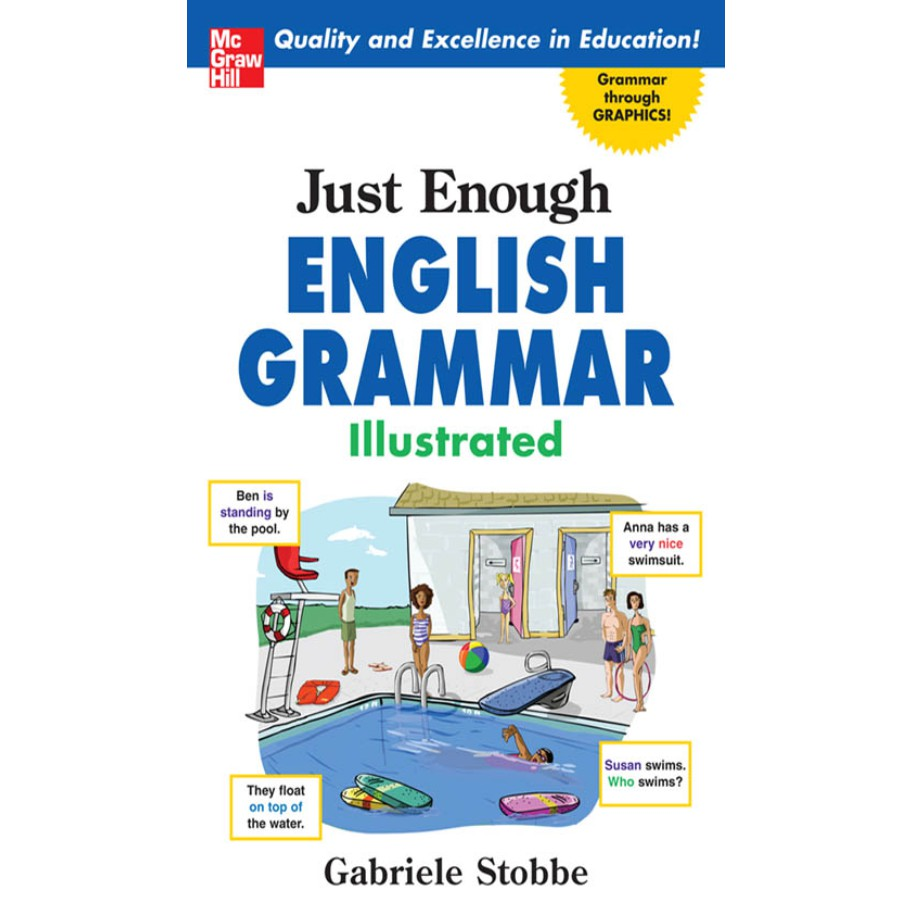 Just Enough English Grammar Illustrated by Gabrielle Stobbe eBook