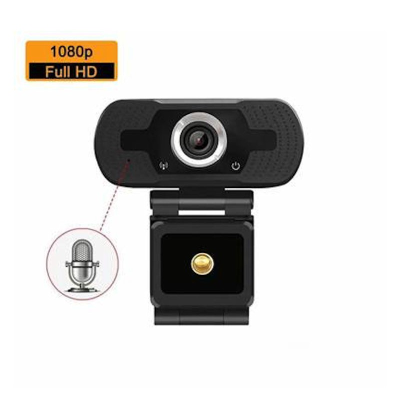 (Quality Assured) 1080P Full HD Webcam - Teams, Skype & Zoom Compatible