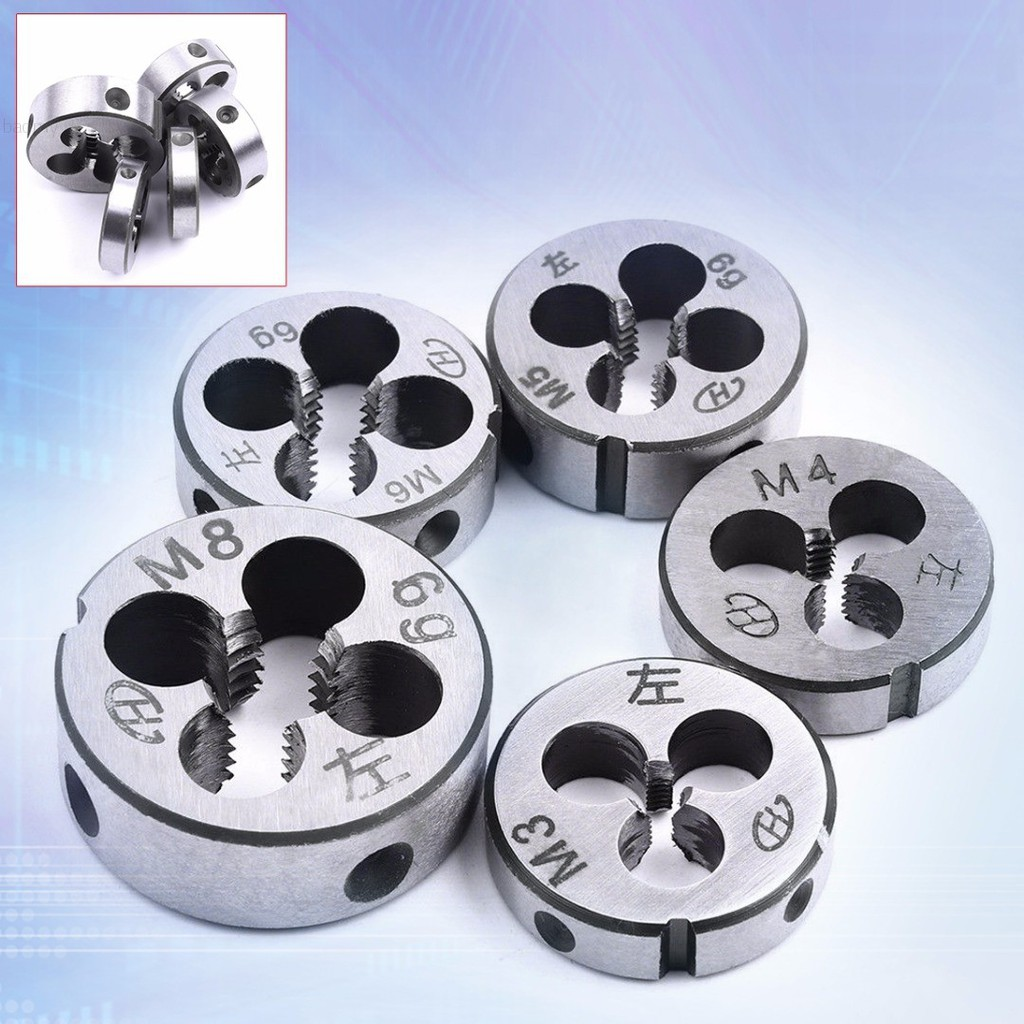 New 1pc Metric Right Hand Die M4x0.7 mm Dies Threading Tools M4 x 0.7 mm pitch