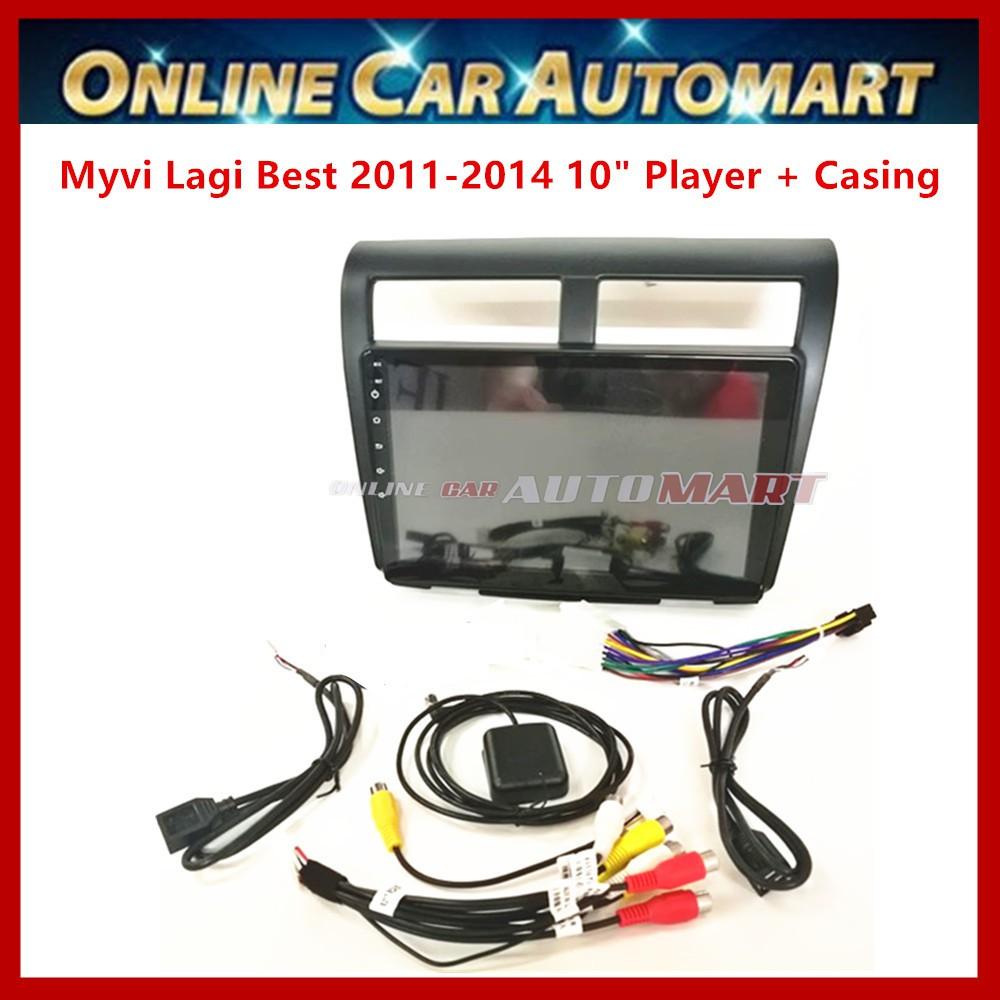 Perodua Myvi Lagi Best (2011-2014) 10.1 Inch Car Android Player Big Screen 2DIN Car Stereo With WIFI (1GB ram 16gb Rom)