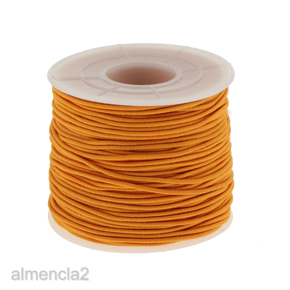 1 Roll 6 Metre 0.8mm Clear Stretch Jewellery Beading Crystal Elastic Cord Thread