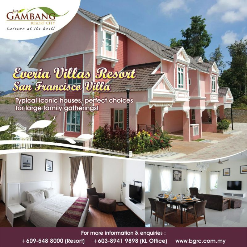 Bukit Gambang Resort City Everia Villa