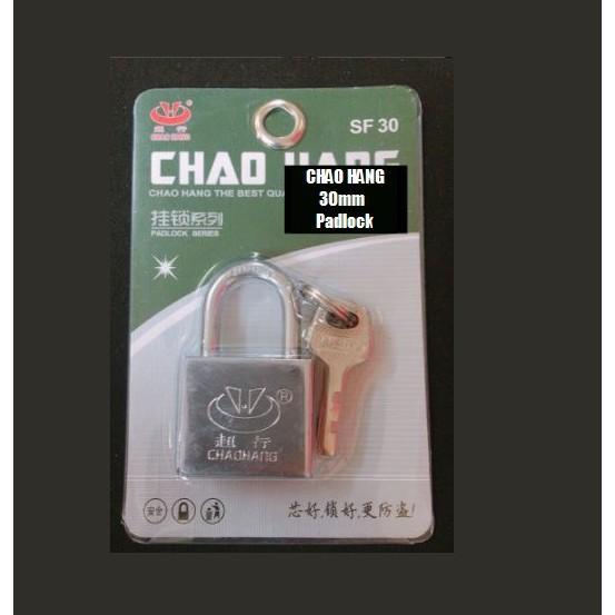 CHAOHANG Heavy Duty Brass Laminated Anti Rust Padlock Premium Quality Lock SF30