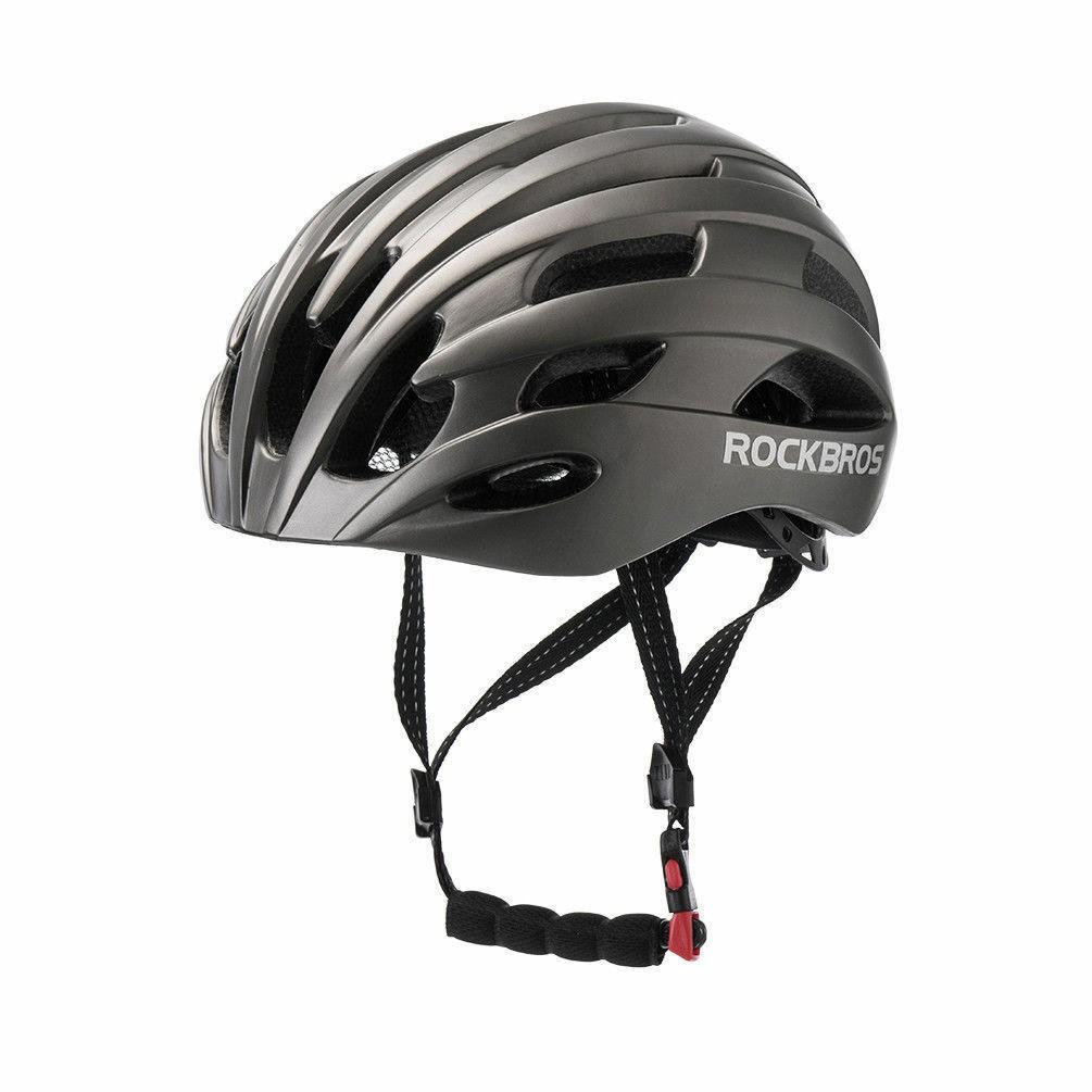 RockBros MTB Road Bike Cycling 57cm-62cm EPS Integrally Helmet 3 in 1 TI Color