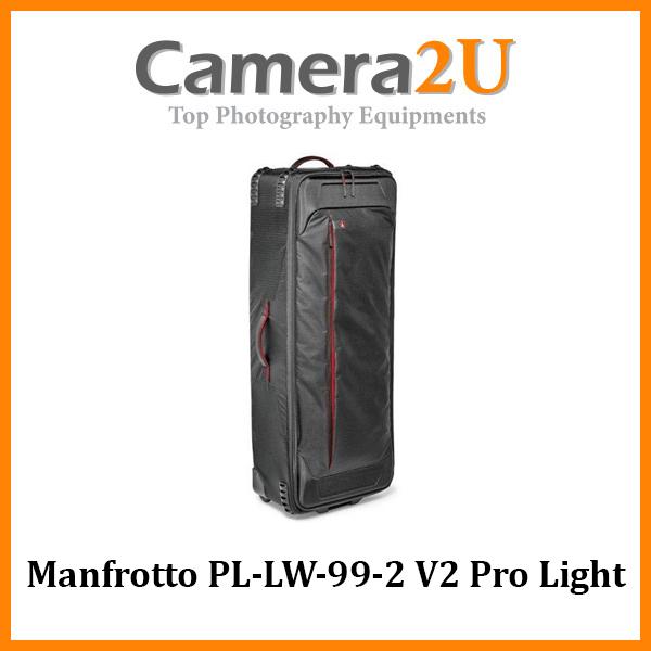 Manfrotto PL-LW-99-2 V2 Pro Light Rolling Lighting Gear Organizer
