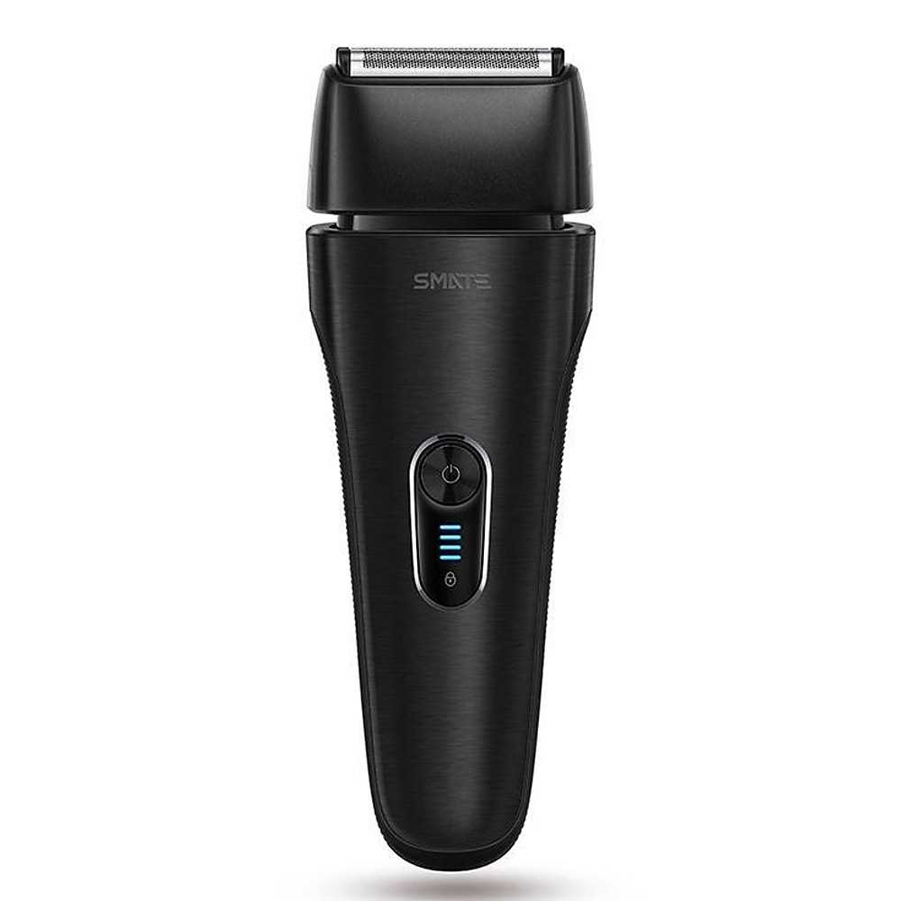Xiaomi Mijia Smate Electric Razor Shaver Waterproof Wash Dry and Wet (Black)
