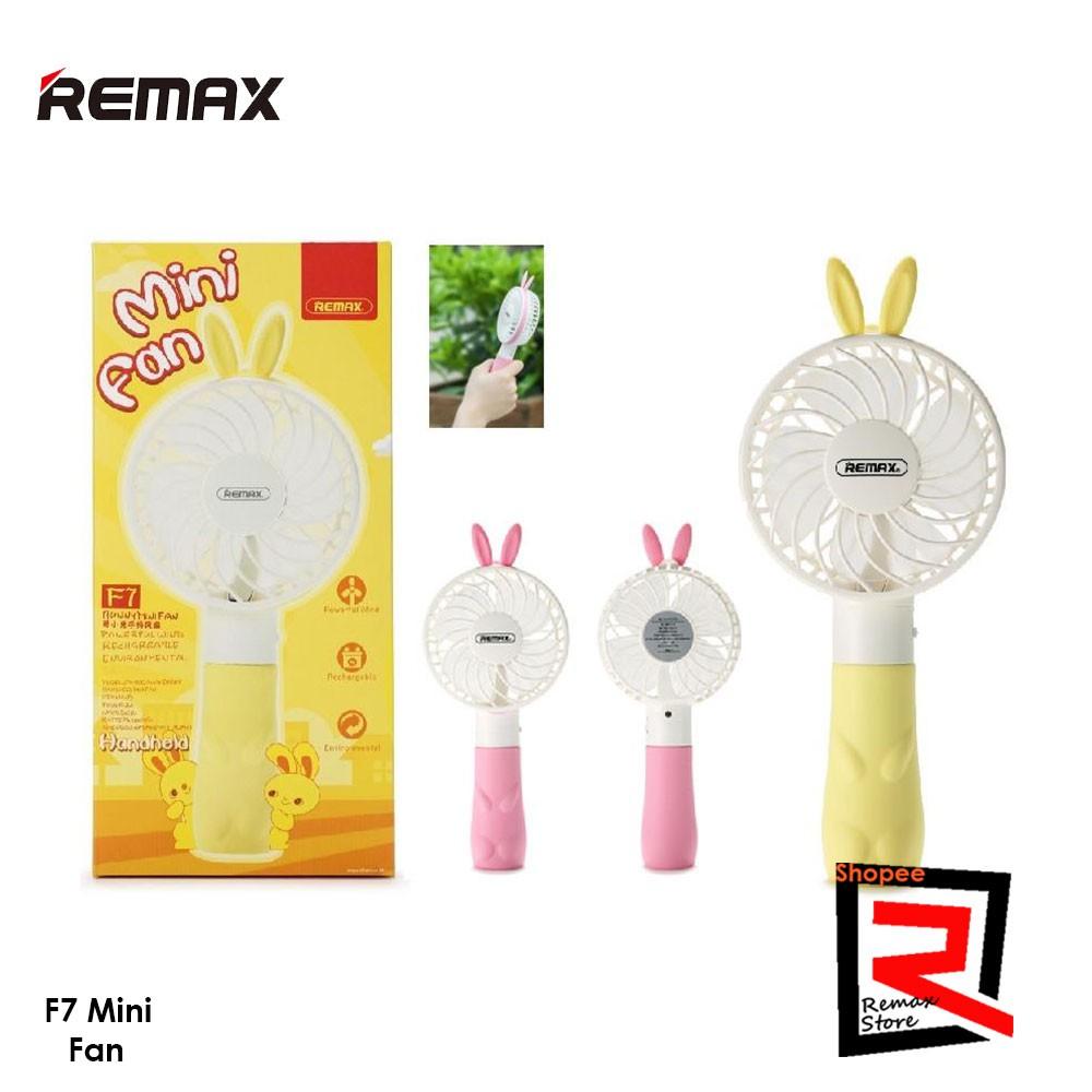 Remax Evil Design F16 Rotatable Handle 1200mAh Portable Mini Fan | Shopee Malaysia