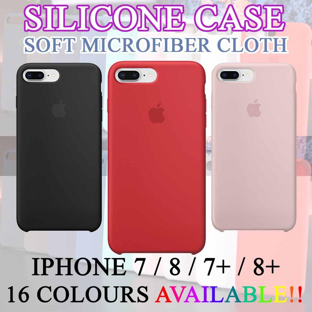 1b6c40a14 LIQUID SILICONE CASE FOR IPHONE 6 Plus / 6s Plus | Shopee Malaysia