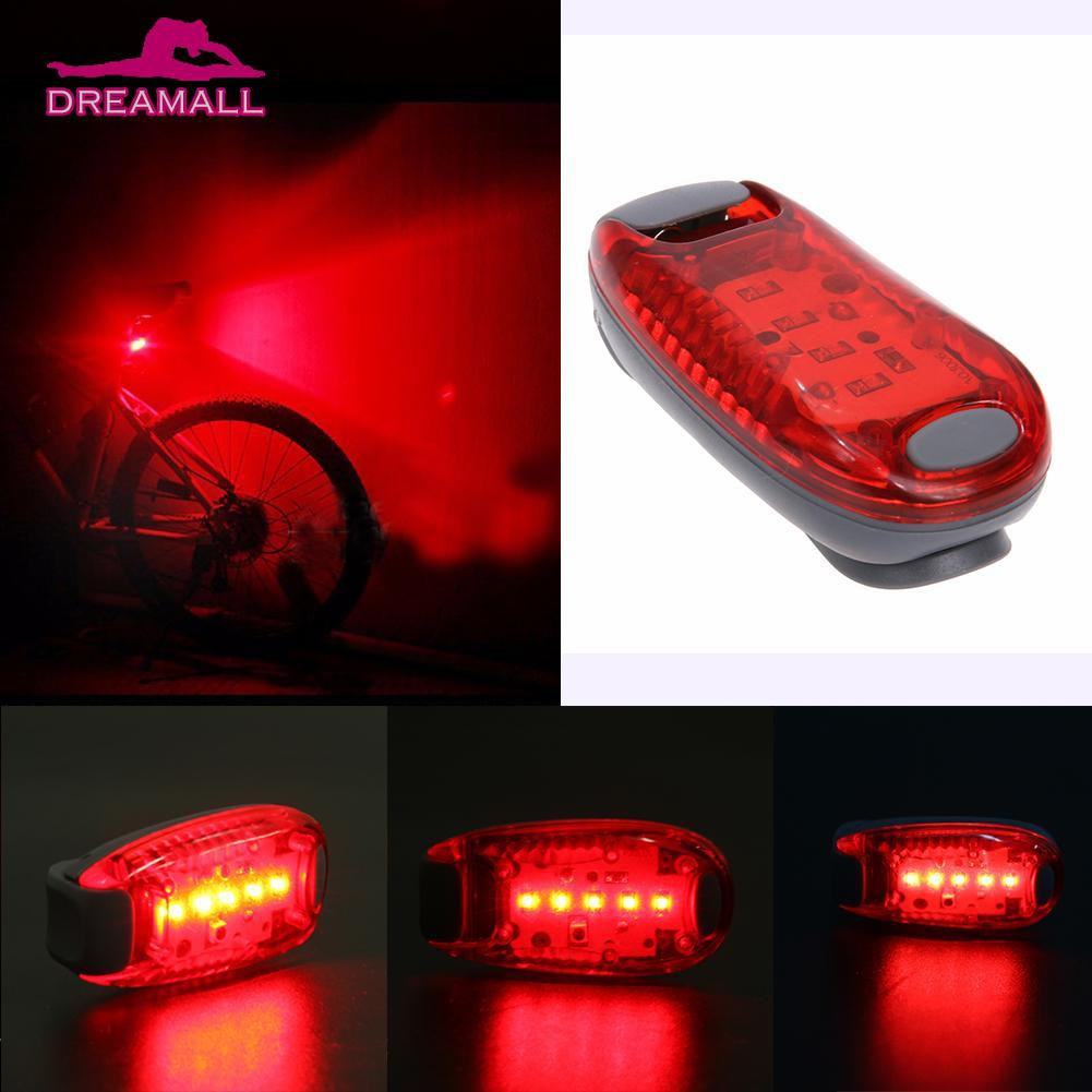2 X LED Bicycle Bike Cycling Silicone Head Front Rear Wheel Safety Light Lamp L7