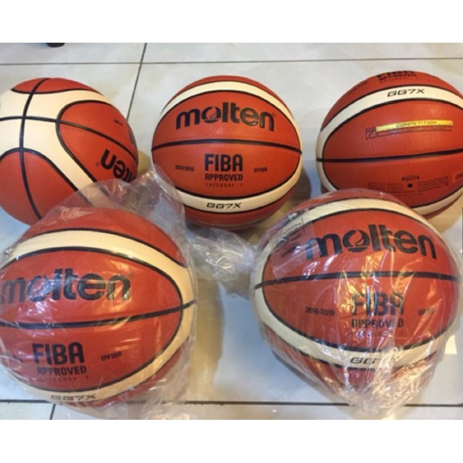 100 Authentic Molten Gg7x Fiba Basketball New Official 7 Shopee Bola Basket Size Malaysia