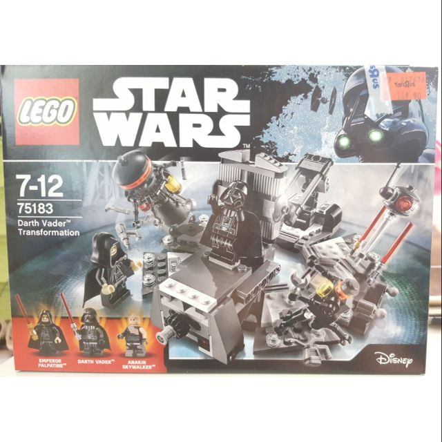 Lego 75183 75183 Darth Lego Transformation Vader clJ31uTFK5