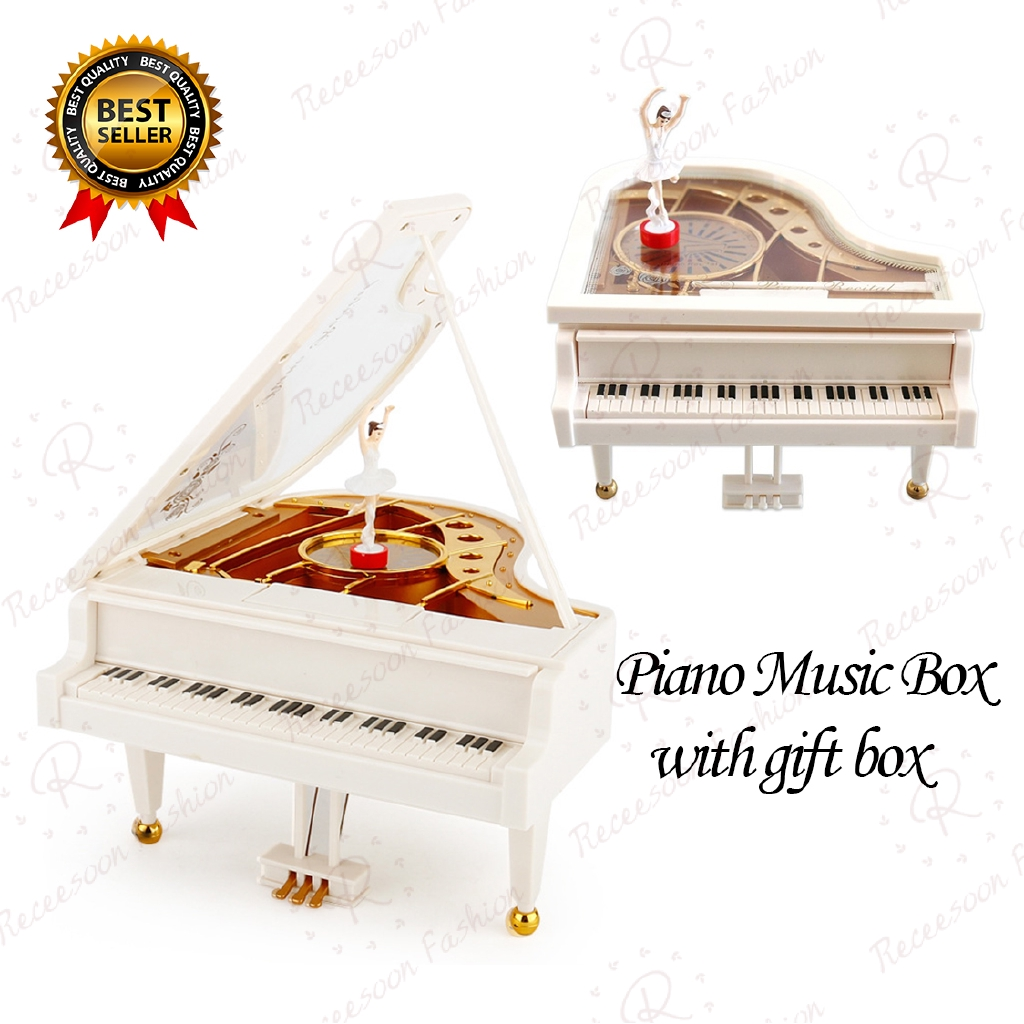 Piano Music Box Classical Clockwork Rotating Ballerina Music Boxes Girls Gifts | Shopee Malaysia